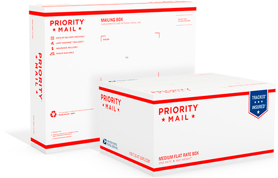 USPS Priority Mail International | Postage Online - VIPparcel