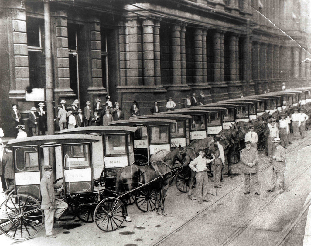 USPS Mail Collection Wagons 1905