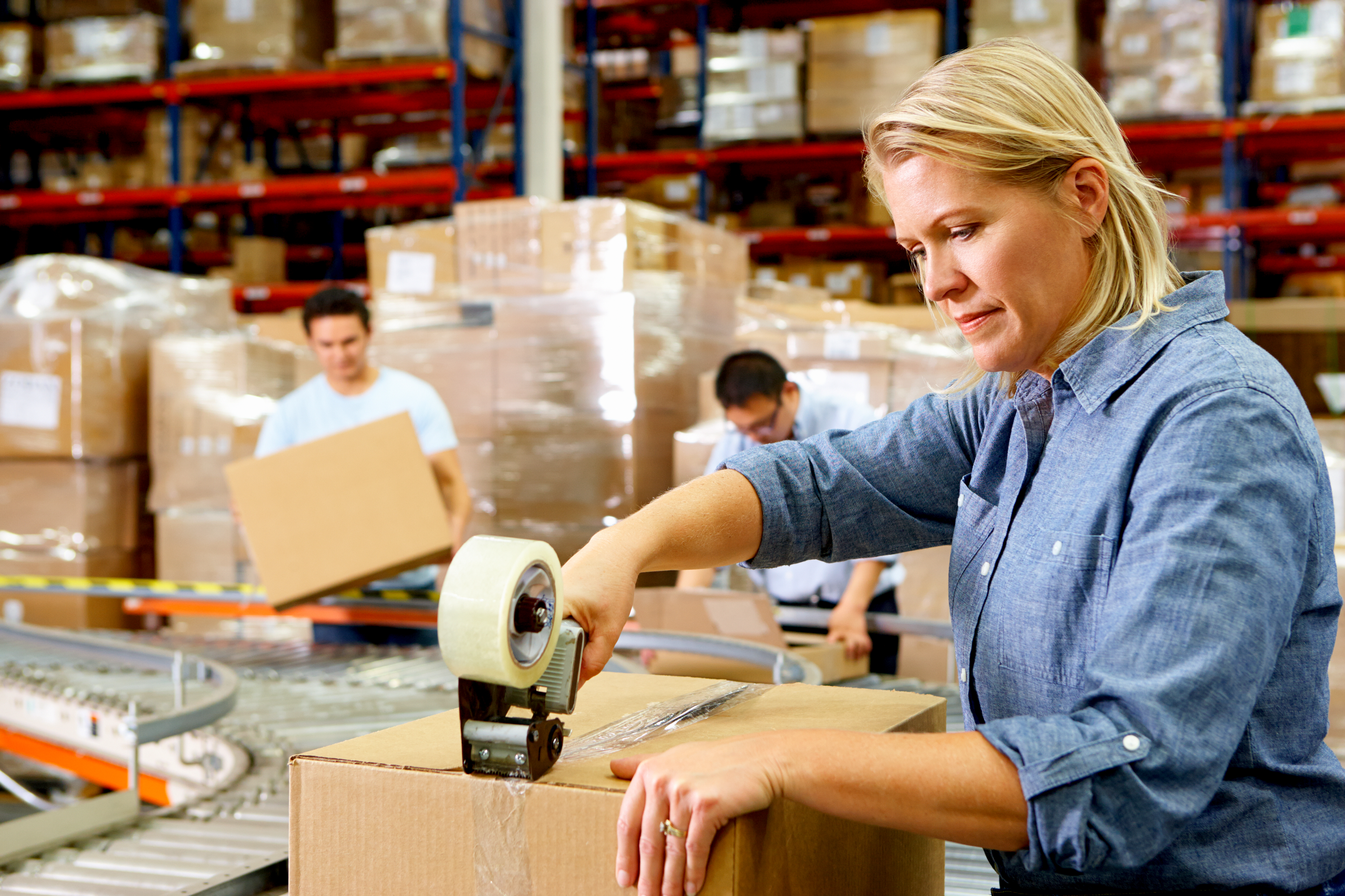Discount shipping for Warehouses and Fulfillment Centers